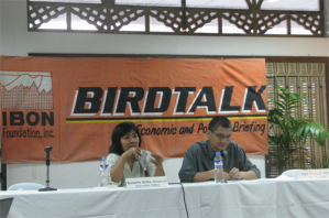 Birdtalk, Jan 14, 2010 Balay Internasyunal