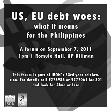 US, EU debt woes and the Philippines