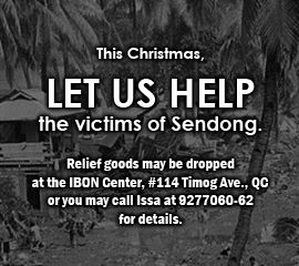 Relief for Sendong victims
